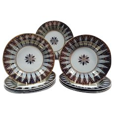 Set of Ten Wedgwood Pearlware Soup Plates