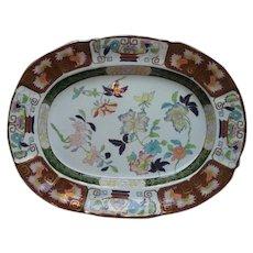 A  Large Ashworth's Ironstone China Platter