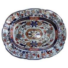 An Ashworth's Real Ironstone China Platter