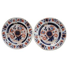 Pair of Ashworth's Ironstone Plates