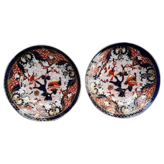 A Pair Of Coalport Bowls King's Pattern