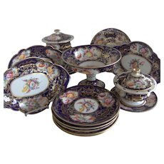 19th Century English Part Dessert Service