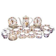 A 20th Century Royal Crown Derby Imari Pattern Tea & Coffee Service