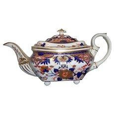 Derby King's Pattern Teapot