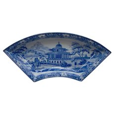 Blue and White Transfer Printed Supper Set Dish Chalees Satoon