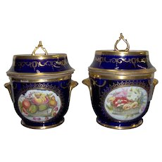 A Pair of Coalport Ice Pails and liners