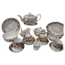 An Early 19th Century Derby Part Tea Service