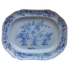 Spode 'Chinese Flowers' Blue and White Platter