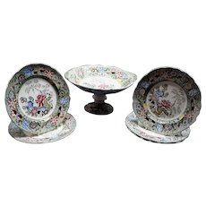 Minton Stone China Part Dessert Service