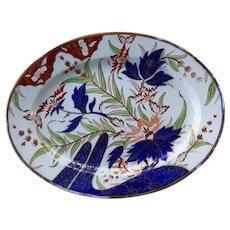 Coalport Platter in the Finger and Thumb Pattern