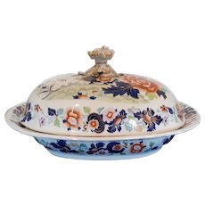 Large Hicks & Meigh 'Stone China' Dish and Cover