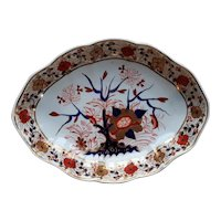 Derby Oval Serving Dish, Tree of Life Pattern,