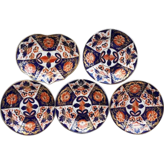 Five Pieces of Early Derby Porcelain