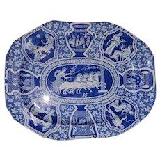 A  Large Spode Greek Series Platter