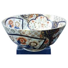 A Large Coalport Imari style bowl.