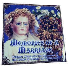 "Theriault's Book, ""Memories Of A Marriage"", from the Collection of the Musee De Manoir de Vacheresses."