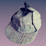 A Genuine Scottish Deer Stalker Hat - 1960s