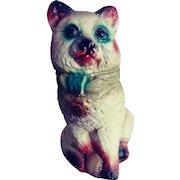Carnival Prize Chalkware Kitty.  He's a Bank!