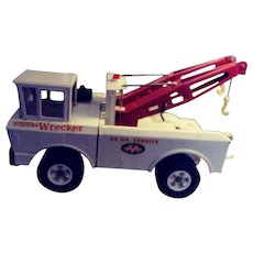 Vintage Tonka Double Hooked Tow Truck with Triple A Logo