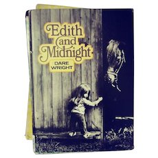 "Dare Wright's Lonely Doll Series,  ""Edith And Midnight"" - Red Tag Sale Item"