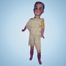 """Armand Marseille 390 Project Doll.  19"""" Tall.  Sleep Eyes."""