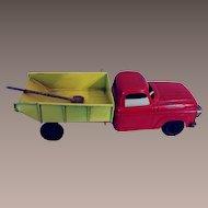 Vintage Metal Dump Truck -  1950s
