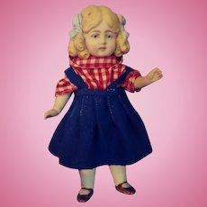 Little All Bisque German Girl