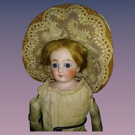 Beautiful Straw Bonnet