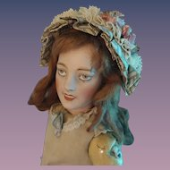 Artist Made Doll Bonnet