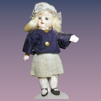 TIny German Bisque Girl - Compo Body