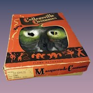 1940s Child's Owl Costume With Box - Size Small