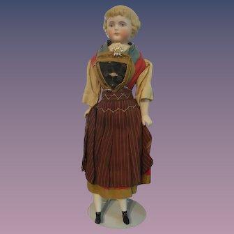 Beautiful Parian in Regional Costume - All Original