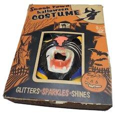 1940s-50s Halloween Cat Costume