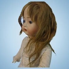"Mohair Doll Wig - Light Brown - 8"" Circumference"