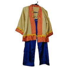 Vintage Halloween Chinese Costume