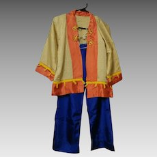 Vintage Halloween Chinese Costume