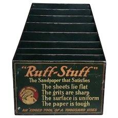 Ruff Stuff Sandpaper Bin - 1930s-40s