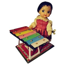 Key Wind Xylophone Player.  She Still Plays Beautifully.