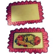 Lovely Calling Card Valentine - Early 20th c.