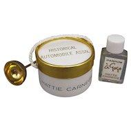 Hattie Carnegie Perfume A'Gogo, Miniature, Historical Automobile Assn Promotion.