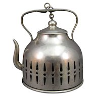 Tea Ball Infuser, Figural Tea Kettle.