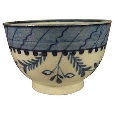 Leeds Pearlware, Soft Paste Teabowl, C.1790.