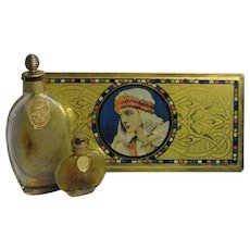 Gardenglo Palmer Perfume in Rudolph Valentino Beautebox, C.1920s.