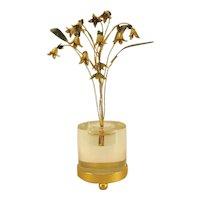 Gorham Jane Hutcheson Enameled Flowers, EnTremblant.