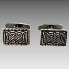 Vintage David Andersen Norway Sterling Silver Cufflinks