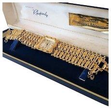 Vintage Hamilton Ladies Rhapsody Royale 17 Jewel Ladies Bracelet Watch