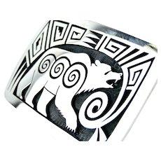Ramon Dalangyawma Bear Design Sterling Buckle