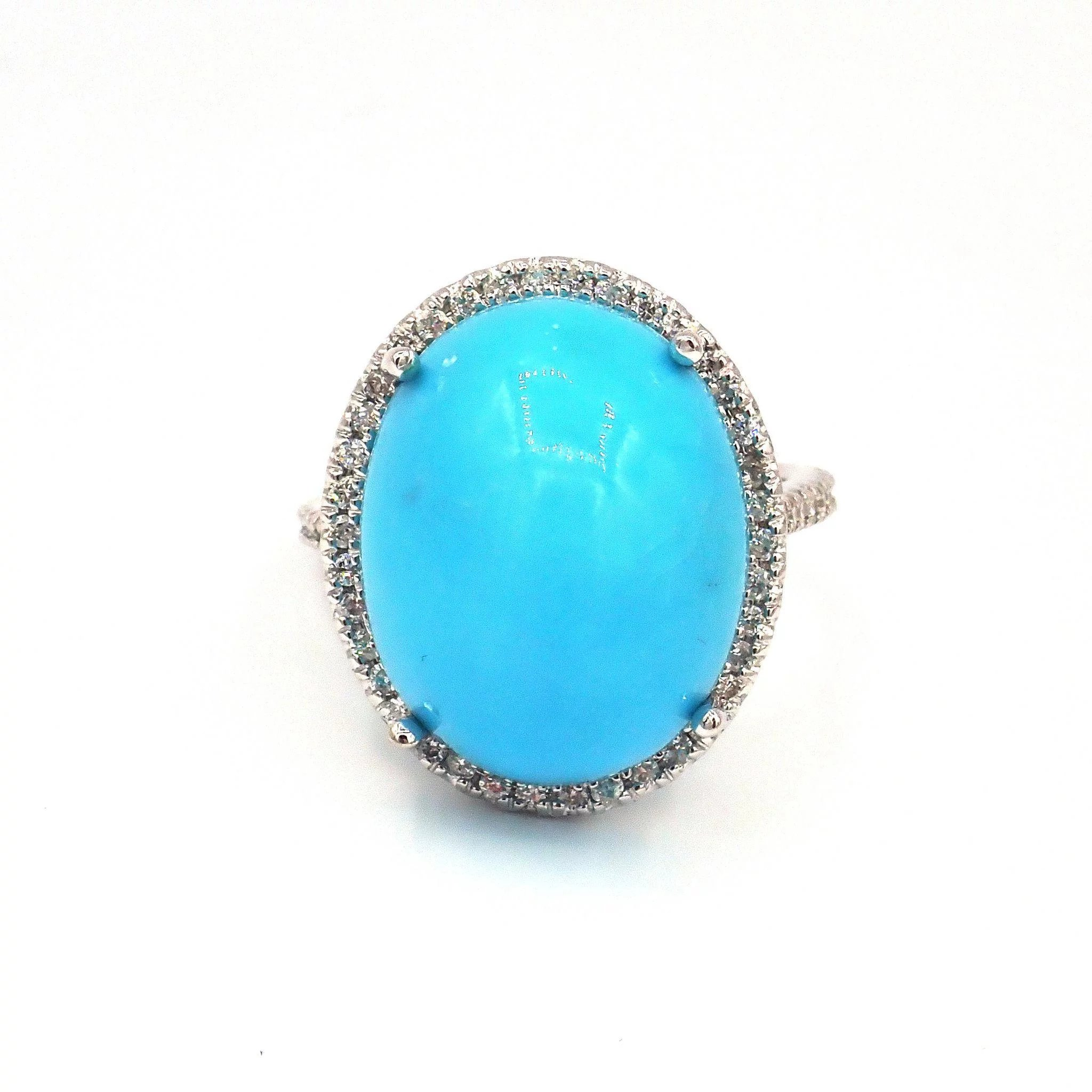 diamond ring turquoise basin erie a