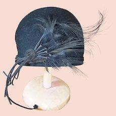 1920's RARE, Ravishing Cloche Hat