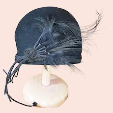 1920's RARE, Ravishing Cloche Hat